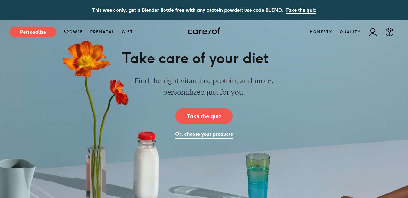 care/of website